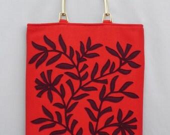 Bag Oliveira - red/bordeaux
