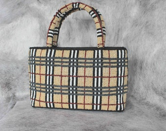 Vintage bag purse. Evening beautiful clutch.