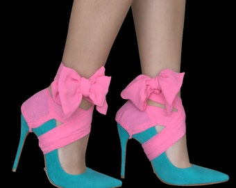 Pretty in Pink Heel covers to make sure you stand out!
