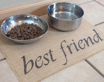 best friend pet place mat