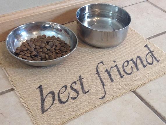best friend pet place mat