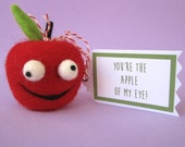 Wacky Apple Valentine
