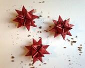 SALE Set of 3 Paper Stars