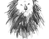 The Lion - Big Cat Series - Limited Edition Digital Print