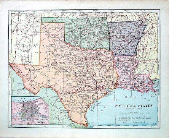 Arkansas Texas Map Business Ideas 2013