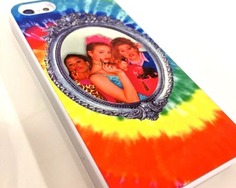 As If Clueless Tie Dye Iphone Hard Case