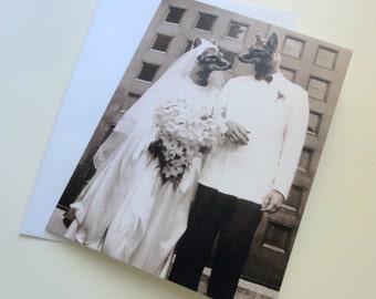 Fox Hollow Wedding - Blank Card