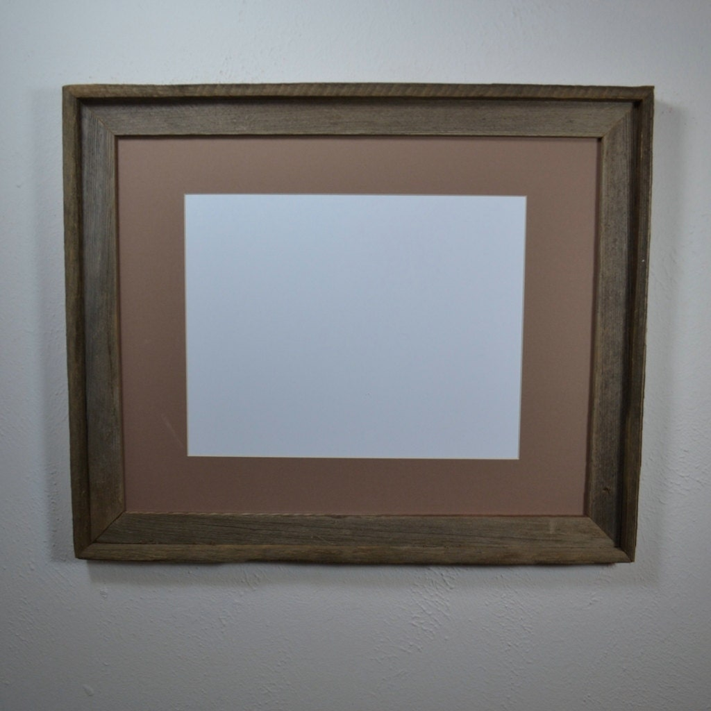 Picture Frame 16x20 Complete With Mat For Photos Or By