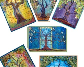 Greeting Cards -- Trees
