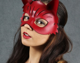 Foxy Leather Mask