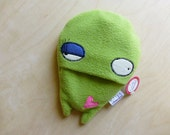 Pip Squeak the Hottie-- Super Mini Hot Water Bottle Cover with High Quality German Bottle Included