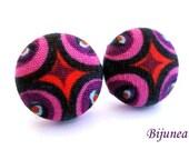 Indian earrings - Purple indian stud earrings - Indian studs - Indian posts - Indian post earrings sf1210