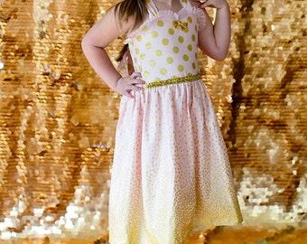 Halter Dress - Pink Dress - Elegant Dress