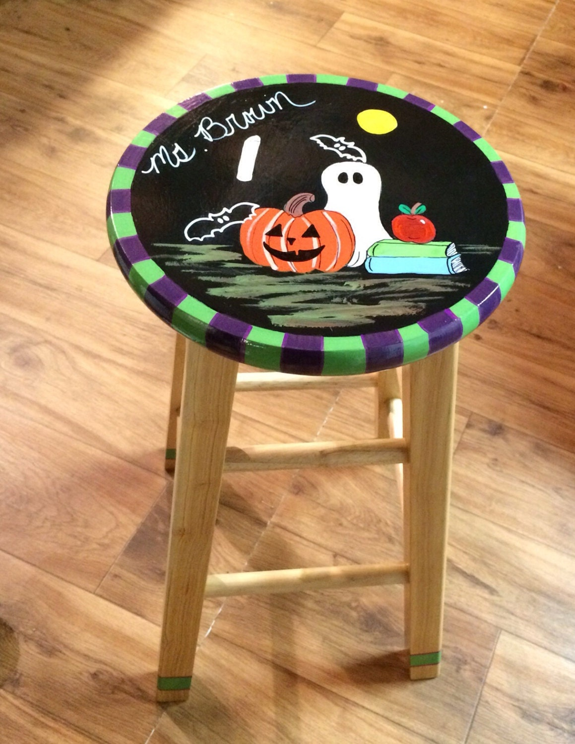 whimsical painted furniture 29 painted bar stool