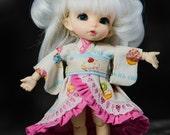 Creamy Cupcakes Wa Loli Kimono for  Lati Yellow Fairyland PukiFee Tiny