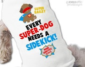 Big brother or big sister to be dog superhero superdog shirt - first time pregnancy announcement dog shirt