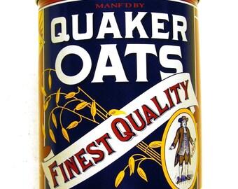 Quaker Oats Finest Qualty Tin