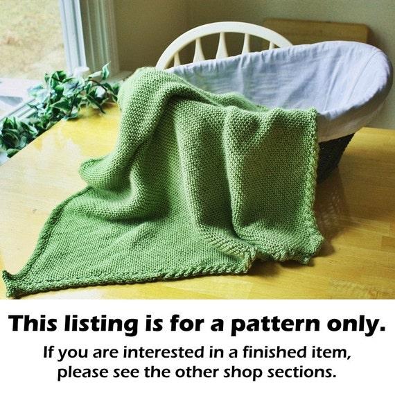 Knitting Pattern For Stroller Blanket : Knit stroller blanket pattern knit baby blanket pattern