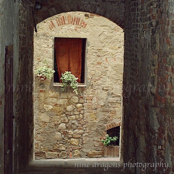 Italy Photography, Rustic Home Decor, Italian Print,Stone Wall Art ...