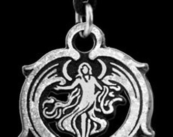 Guardian Angel Pewter Pendant