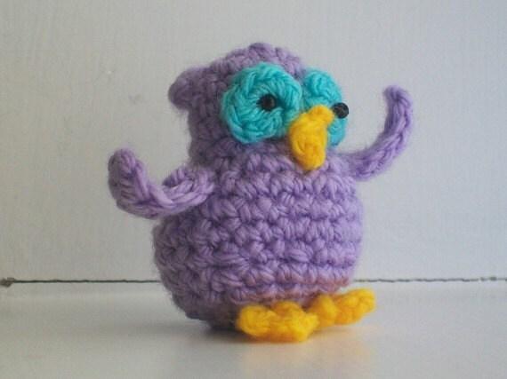 Mini Owl Pattern crochet owl pattern amigurumi owl