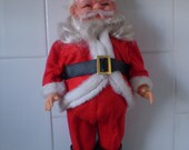 Vintage Awesome SANTA CLAUS Doll