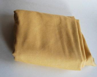 Vintage Fabric, Golden Yellow
