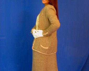 Vintage Sweater Suit St John Style