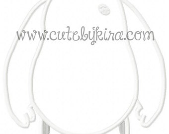 Six Hero Man  Applique Machine Embroidery Design (DIGITAL ITEM)