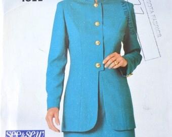 Misses Petite Jacket & Skirt - See N Sew 4811 Pattern - UNCUT