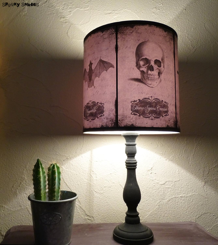 Halloween Curiosities Lamp Shade Lampshade skull lamp