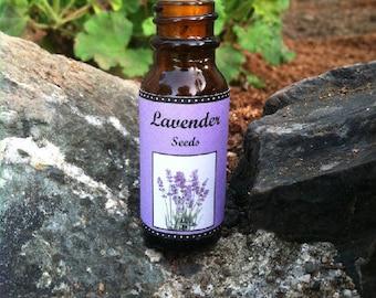 Lavender Seeds in bottle