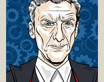 12th Doctor - Doctor Who print