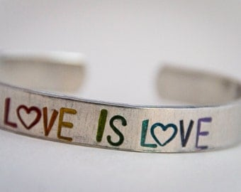 READY TO SHIP* Love is Love 3/8