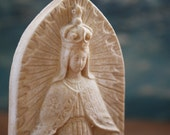 Small Chalkware Mary Statue
