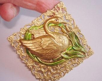Swan Brooch KL Design