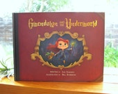 Gwendolyn and the Underworld | SIGNED | Illustrated Children's Book, Cute Undead Grim Reaper Girl | Flimflammery
