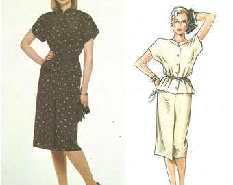 Vogue 2531 Vintage Designer Sewing Pattern By John Anthony // Skirt And Blouse