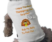 I'm Going To Be A Big Brother Dog Shirt - Thanksgiving Pregnancy Announcement Dog Shirt - Dog T-Shirt - Thanksgiving Dog TShirt