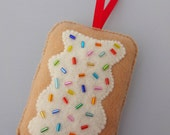 PERSONALIZED - Toaster Pastry Christmas Ornament