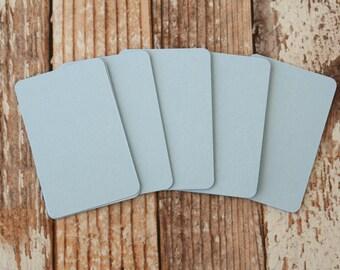 50pc BABY BLUE Lakeland Series Business Card Blanks