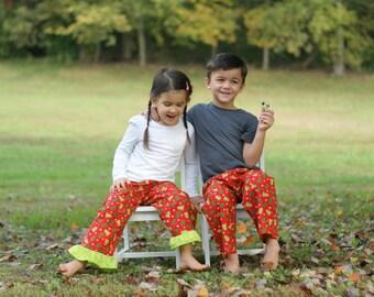 Christmas Pajamas. Me and My Doll Matching Christmas pajamas. Sizes 2T-12. Lightweight cotton pants.