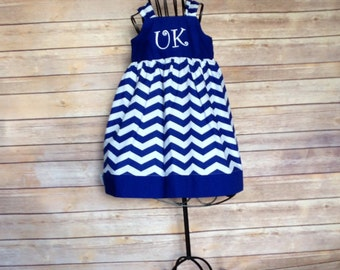 Fall Kentucky wildcats Boutique girls knot dress, size 1-8yrs