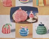 60s Vintage Knitting & Crochet patterns booklet Patons C14 Toys Tea Cozies Afghans Socks Golliwog Poodle