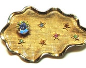 Reserved for SubPopGirl Vintage Kramer Rhinestone Brooch Pin Moon & Stars Vintage Jewelry