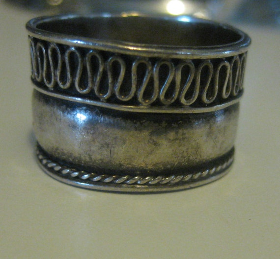 bali 925 sterling silver cigar band ring free by resorcerer