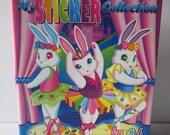 Lisa Frank Ballerina Bunnies Sticker Collection Binder