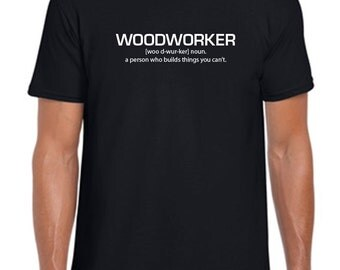 Personalized Woodworker Definition Shirt