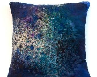 Galaxy Silk Pillow