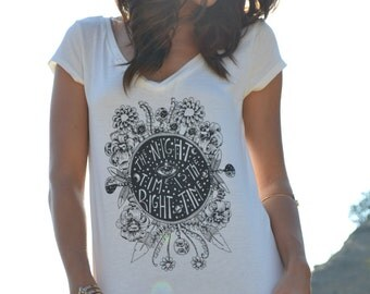 NIGHT TIME /// Boho Lux Divine Clothing /// Vintage Style Soft Tank or Tee